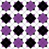 Nahtloser Hintergrund mit geometrischem Muster Stockfotos