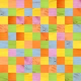 Nahtloser Hintergrund mit hölzernen Mustern Stockbild