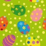 Nahtloser Hintergrund Ostern Lizenzfreies Stockbild