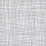 Nahtloser Hintergrund mit schwarzen Linien und Kurven stock abbildung