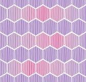 Nahtloser Hintergrund mit Seilhexagonen Stockbild
