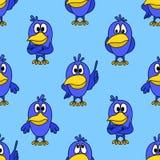 Nahtloser Hintergrund, Vögel Lizenzfreie Stockfotos