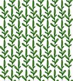Nahtloser Hintergrund von Grünpflanzen vertikal Lizenzfreie Stockfotos