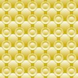Nahtloser Hintergrund von Kreisen Stockbild