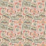 Nahtloser Hintergrund von UDSSR-Bindungen Lizenzfreies Stockfoto
