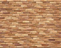 Nahtloser Illustrationshintergrund der Backsteinmauer. lizenzfreie abbildung
