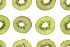 Nahtloser Kiwihintergrund Stockfoto