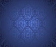 Nahtloser marokkanischer Musterhintergrund Stockfotografie