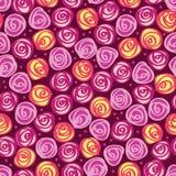 Nahtloser mit Blumenhintergrund Stockbilder