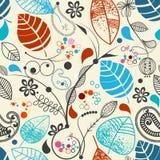 Nahtloser mit Blumenhintergrund Stockbild