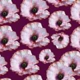 Nahtloser mit Blumenhintergrund Stockfotos
