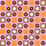 Nahtloser mit Blumenhintergrund vektor abbildung