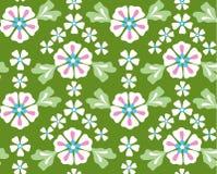 Nahtloser mit Blumenhintergrund stock abbildung