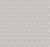 Nahtloser mit Blumenhintergrund. Abstrakte beige und graue geometrische nahtlose mit Blumenbeschaffenheit Lizenzfreies Stockfoto