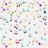 Nahtloser Musikhintergrund Lizenzfreie Stockbilder