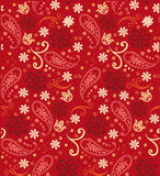 Nahtloser Muster-Hennastrauch Damast-Paisleys Lizenzfreie Stockbilder