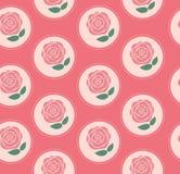 Nahtloser Muster-mit Blumenhintergrund für die Heirat und Stockfoto