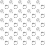Nahtloser Muster St- Patrick` s Tag vektor abbildung