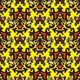 Nahtloser Muster-Vektor Stockfoto