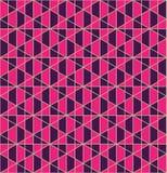 Nahtloser Musterentwurf des geometrischen Gitters lizenzfreie stockfotografie