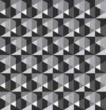 Nahtloser Musterentwurf des geometrischen Gitters lizenzfreies stockbild