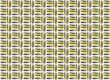Nahtloser Musterhintergrund der Ölfarbe Stock Abbildung