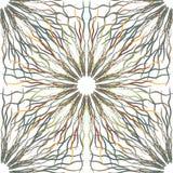 Nahtloser Musterhintergrund der abstrakten Blume Stockfoto