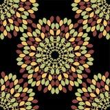Nahtloser Musterhintergrund der abstrakten Blume Lizenzfreie Stockbilder