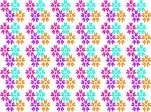 Nahtloser Musterhintergrund der abstrakten Blume Lizenzfreie Abbildung