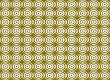 Nahtloser Musterhintergrund der abstrakten Kreisform Vektor Abbildung