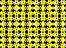 Nahtloser Musterhintergrund der abstrakten Kreisform Stockfotos