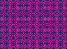Nahtloser Musterhintergrund der abstrakten sometric Kreisform Lizenzfreie Abbildung