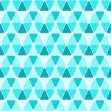 Nahtloser Musterhintergrund der Dreiecke Stockfoto