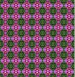 Nahtloser Musterhintergrund der Orchideenkunst Lizenzfreie Stockfotos