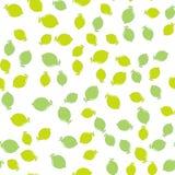 Nahtloser Musterhintergrund der Zitrone Stockbild
