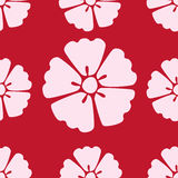 Nahtloser Musterhintergrund Kirschblüten-Kirschblütes lizenzfreie abbildung