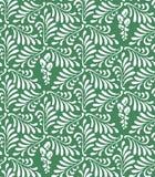 Nahtloser Mustermit blumenhintergrund stilisierte Blätter und Blumen stock abbildung