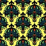 Nahtloser Mustervektor der abstrakten Blume Stockfotos