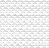 Nahtloser Mustervektor der ehrfürchtigen Pyramide stock abbildung
