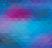 Nahtloser Neonhintergrund des Dreiecks lizenzfreie abbildung