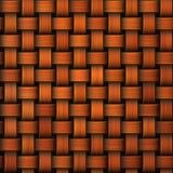 Nahtloser orange gestrickter Hintergrund stock abbildung