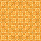 Nahtloser Orangen-Hintergrund Lizenzfreie Stockfotografie