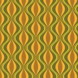 Nahtloser orientalischer geometrischer Musterhintergrund Stockbilder