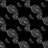 Nahtloser Paisley-Hintergrund Stockbilder