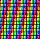 Nahtloser Regenbogenhintergrund Stockbilder