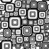 Nahtloser Retro- Hintergrund lizenzfreie abbildung