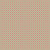 Nahtloser Retro- Kreis-Hintergrund Lizenzfreies Stockbild