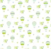 Nahtloser Schätzchen-Hintergrund Lizenzfreies Stockbild