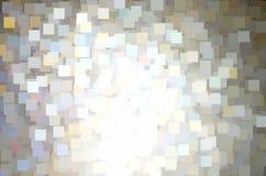 Nahtloser Schein quadriert Musterhintergrund Stockbilder