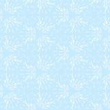 Nahtloser Schneeflockenmusterhintergrund Vektor Stockbilder